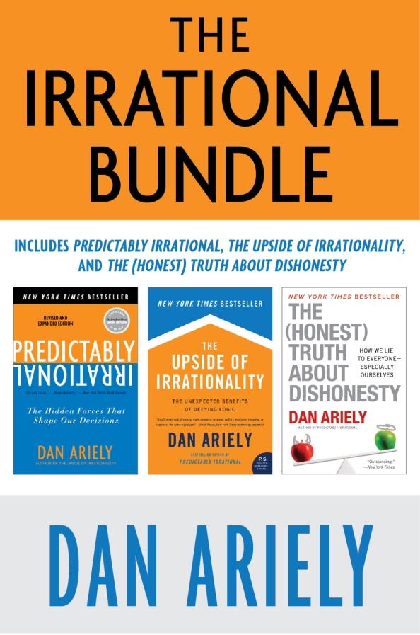 Dan Ariely의 저서 3권을 묶어서 저렴한 가격에 제공한다.
