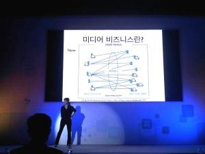 비즈니스는 과거 (대중매체와도 닮은) 일방향형 네트워크에서 양방향 미디어 비즈니스로 진화하고 있다.